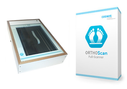 COSINOS ORTHOScan Fußscanner und Software