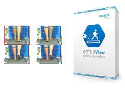 COSINOS ORTHOView Software zur Bewegungsanalyse